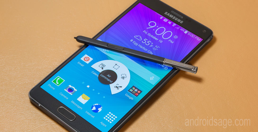 New Firmware Update For Galaxy Note 4 N910F Now Available: Android