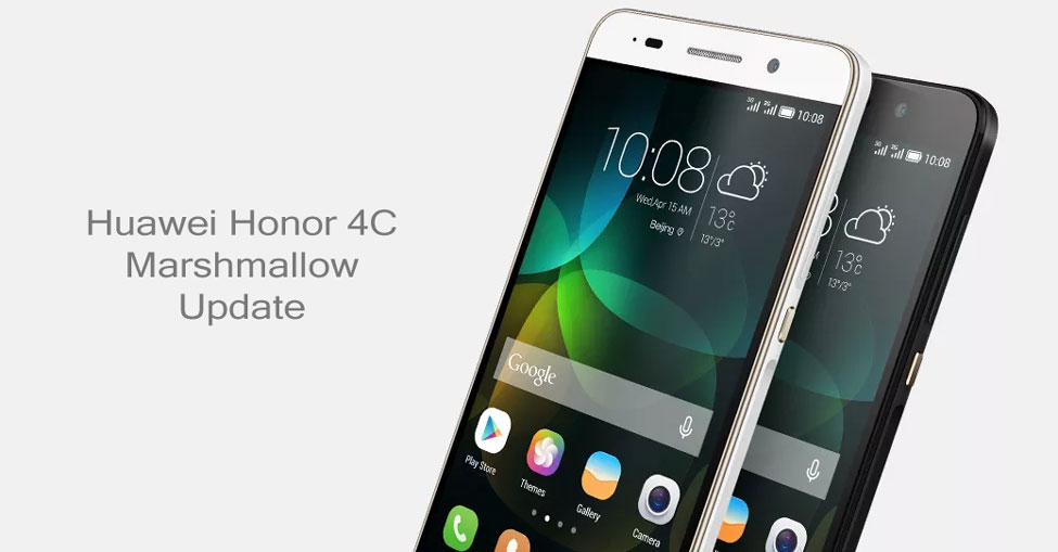 Download Huawei Honor 4C Android 6 0 Marshmallow Update With EMUI 4 0