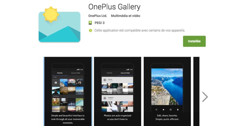 official oneplus gallery app is now available on google playstore. Black Bedroom Furniture Sets. Home Design Ideas