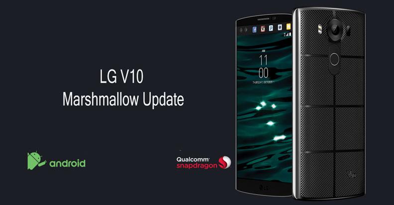 LG V10 Marshmallow update