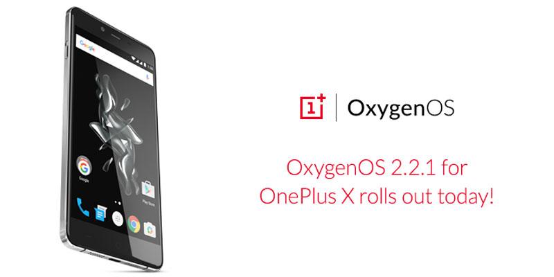 Oxygen OS 2.2.1-Update-on-OnePlus-X-OTA