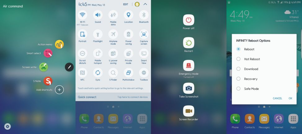 install galaxy note graceux apps touchwiz marshmallow ported