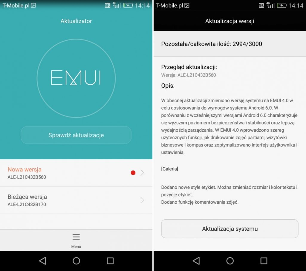 Download Latest Huawei P8 Lite C432B560 Marshmallow EMUI 4 0 Full