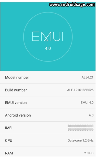 Download Huawei P8 Lite B525 Android 6.0 Marshmallow Update For Middle East and Africa