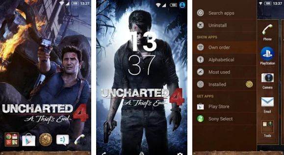 Sony Releases Uncharted 4 Based Theme For Xperia Devices APK Download