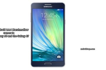 Download Galaxy A5 & A7 Android 6.0.1 Marshmallow Update A500FU-A700FD