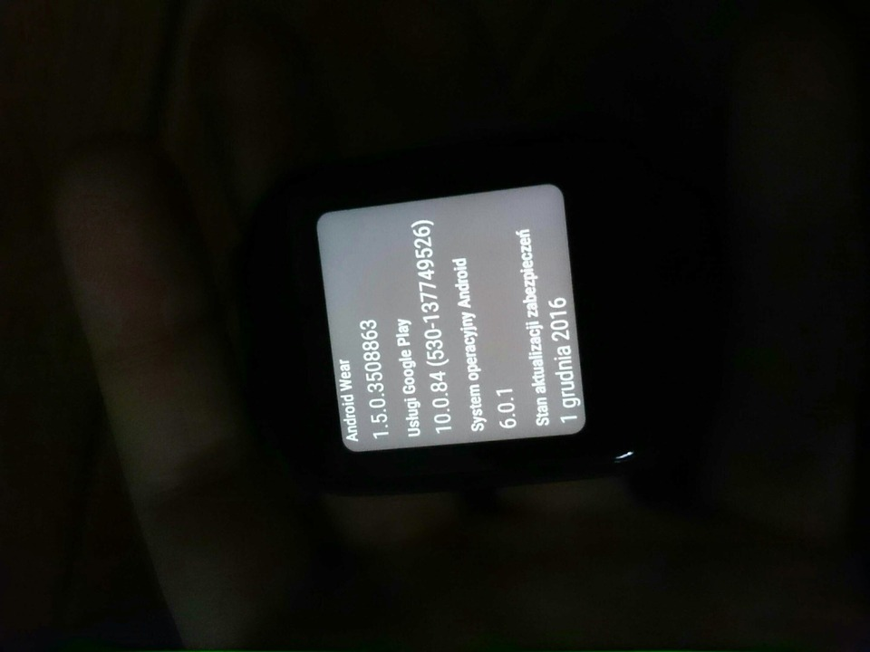 Install Android Wear December Security Update M1D64T and ...