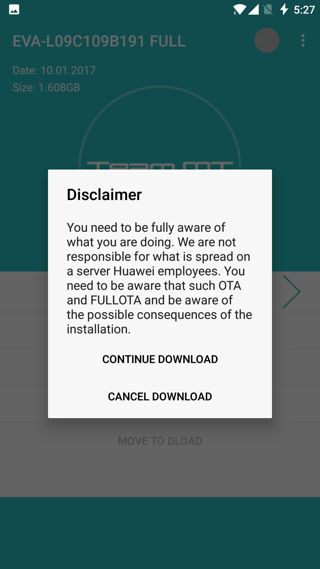 Download Huawei stock firmware updates with Huawei Firmware Finder