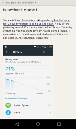 oneplus battery drain issues_androidsage