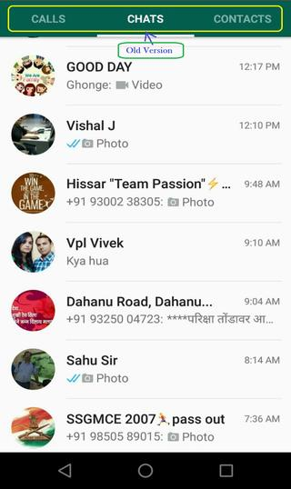 Whatsapp old version