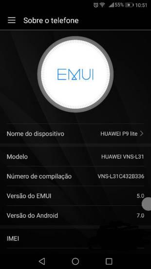 Download Huawei P9 Lite Nougat based EMUI 5 0 update [all