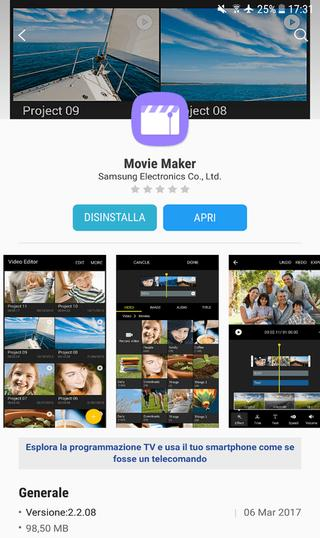 samsung galaxy s8 video editor