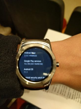 Download Android Wear 2.0 official OTA update on LG Watch Urbane first gen and how to install
