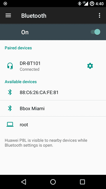 Screenshots of Lineage OS 14.1 based on Android 7.1.2 for Huawei P8 Lite