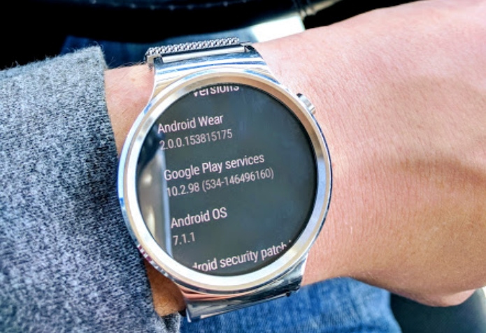 huawei watch 1. download and install huawei watch android wear 2.0 ota 1
