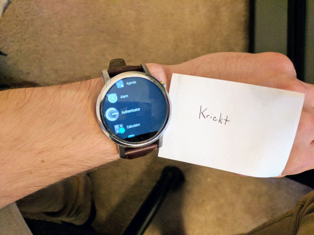 Moto 360 Android Wear 2.0 OTA update screenshots