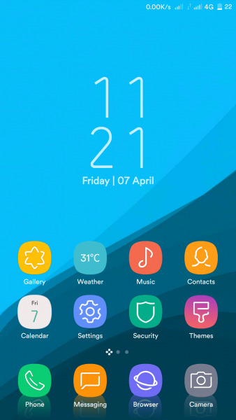 4 awesome Samsung Galaxy S8 (Plus) themes for Xiaomi on stock MIUI