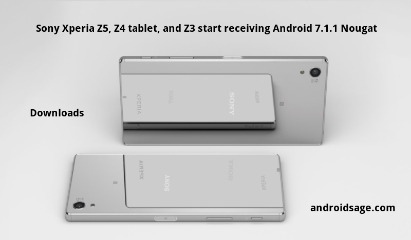 Download and install Android 7.1.1 Nougat for Sony Xperia Z5 Z4 and Z3 32.4.A.0.160