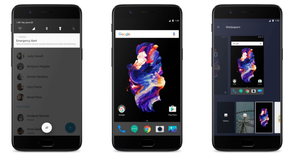 Download stock OnePlus 5 launcher for your Android [3 icon