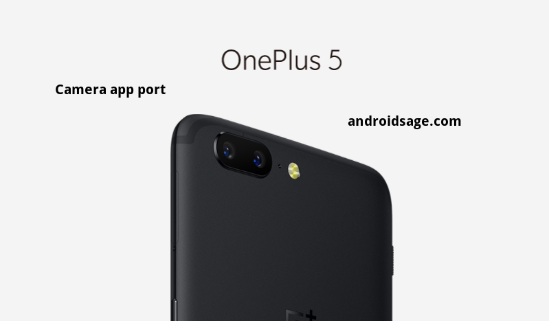 OnePlus 5 camera app for OnePlus 3/3T with Pro Mode and Panaroma