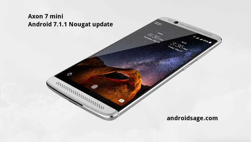 zte axon 7 update to nougat staff are highly