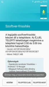A3-Nougat-Update