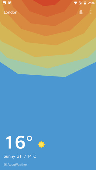 oneplus Weather app v1.7.0 Screensho