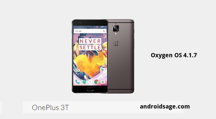 Oxygen OS 4 1 7 for OnePlus 3/3T with August 2017 security