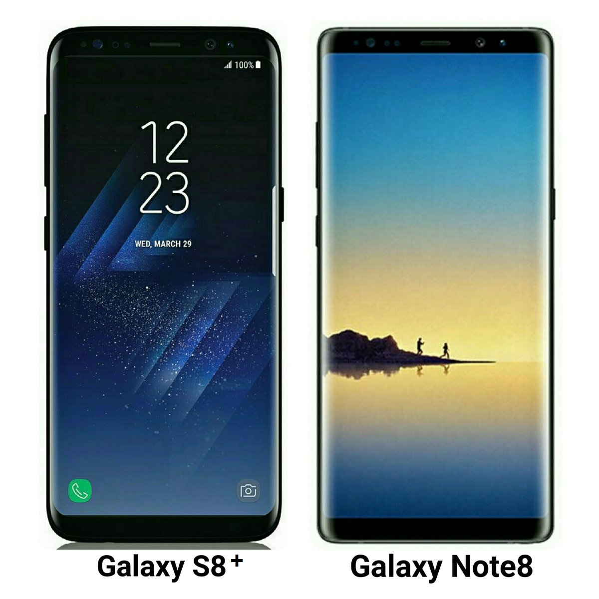 Samsung Galaxy S8 Plus VS Galaxy Note 8