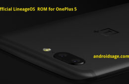 Official LineageOS 14.1 for OnePlus 5
