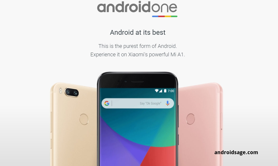 Android One_ Android 7.1.1 nougat Xiaomi Mi A1 ROM port download