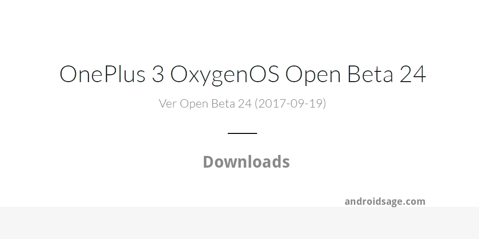OnePlus 3 OxygenOS Open Beta 24 _ Downloads - OxygenOS Open Beta 15 for OnePlus 3t