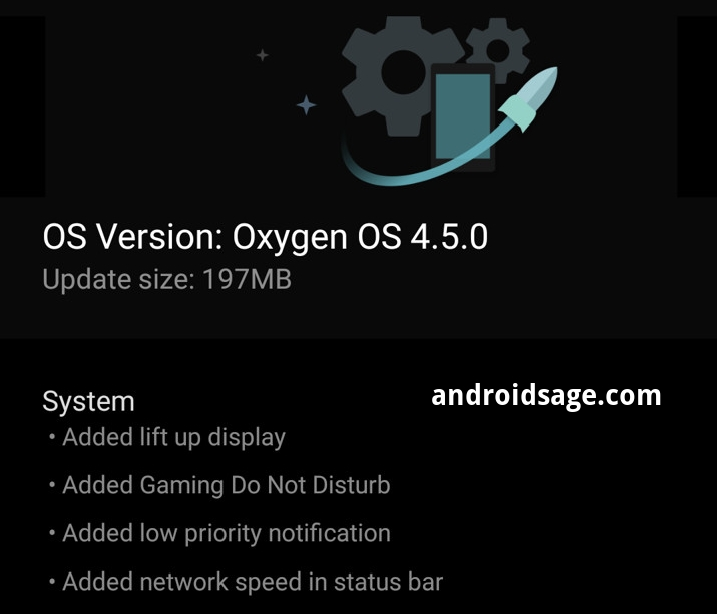download and install Oxygen OS 4.5.0 for OnePlus 3-3T
