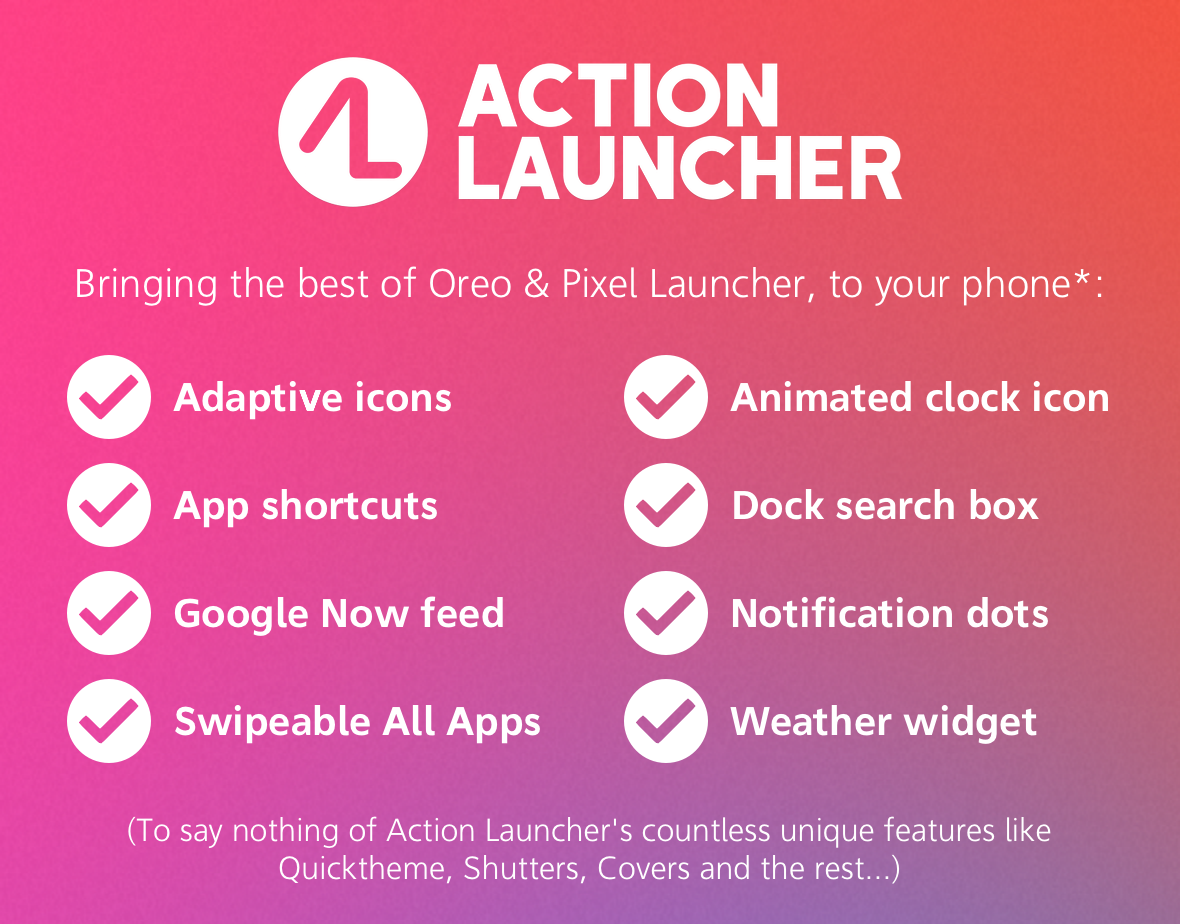 Action Launcher v29.0 for Android