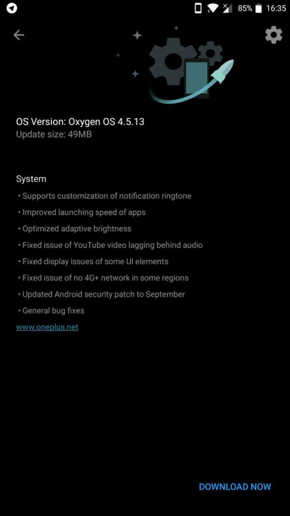 OnePlus 5 receives yet another Oxygen OS 4.5.13 OTA update [Downloads]
