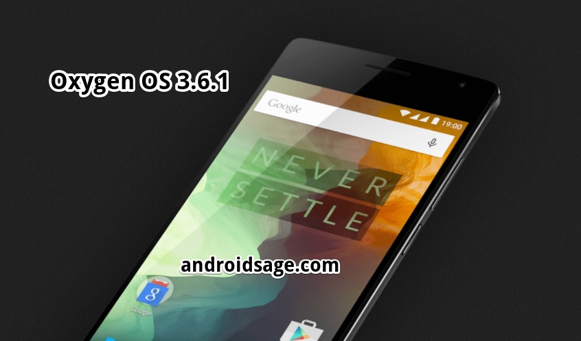 Oxygen OS 3.6.1 for OnePlus 2