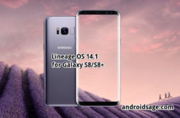 Samsung Galaxy S8 and S8+Lineage OS 14.1 based on Android 7.1.2 Nougat