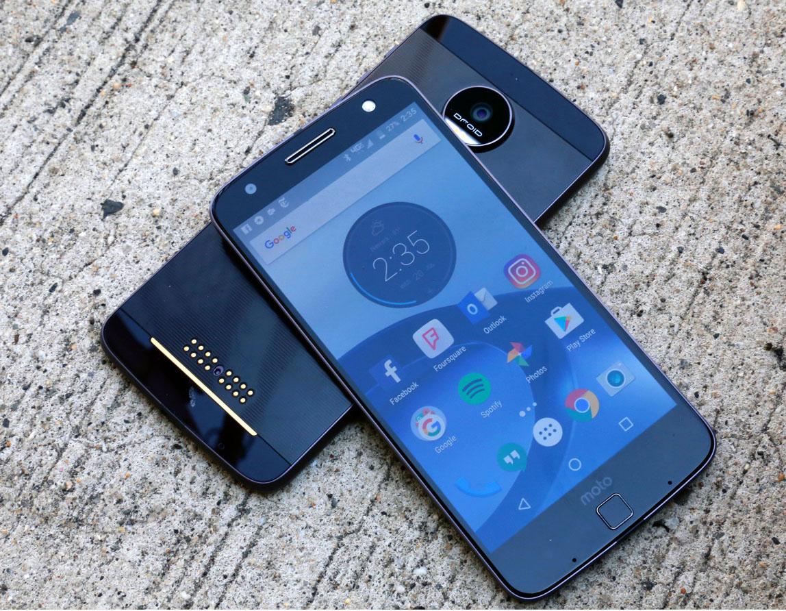 September 2017 firmware update for Verizon Moto Z/Z-Play/Z-Force