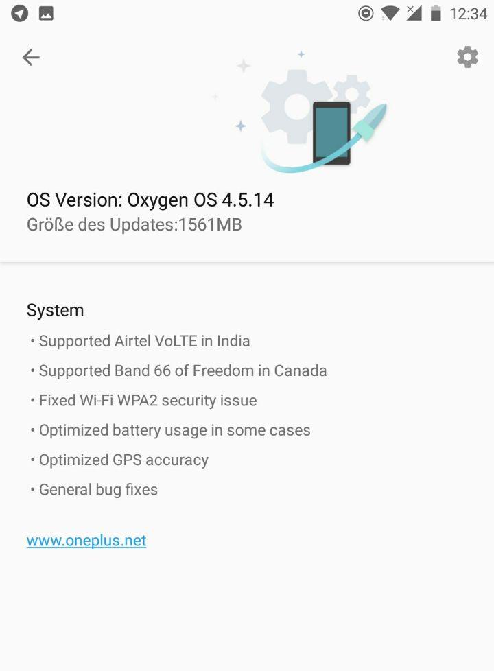 OxygenOS 4.5.14 for OnePlus 5