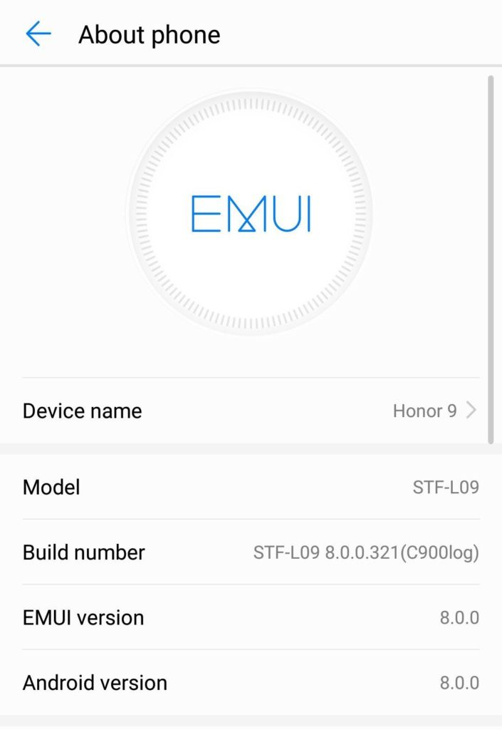 Install Official Android 8 0 Oreo for Huawei Honor 9