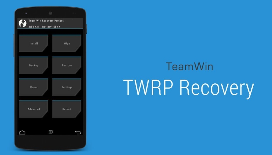 Download and install latest TWRP recovery 3.2