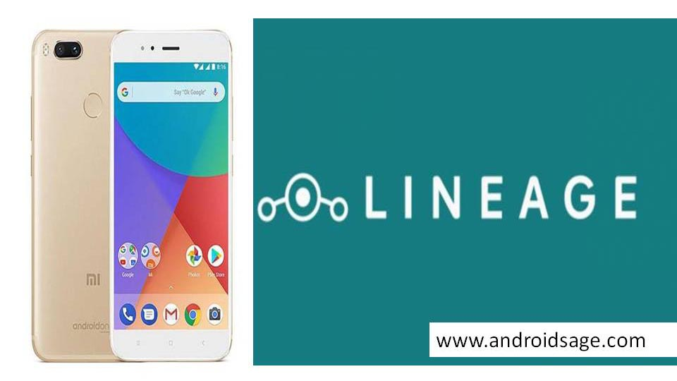 Lineage OS 15.1 for Xiaomi Mi A1 Android 8.1 Oreo