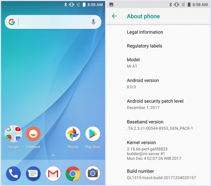 Xiaomi Mi A1 December 2017 Security Patch [OTA Downloads]