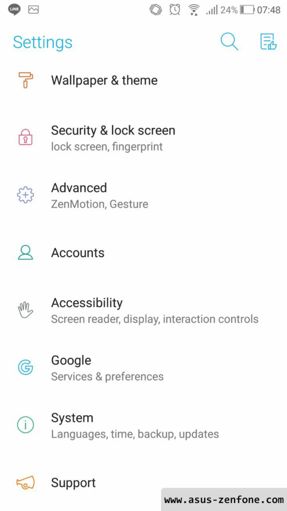Android 8.0 Oreo for Zenfone 3