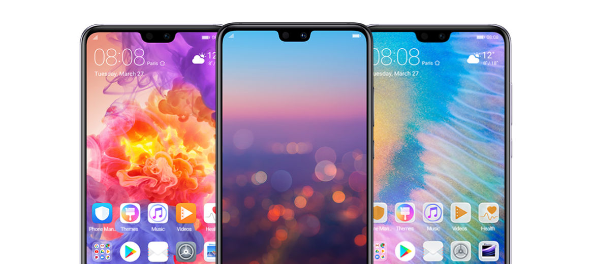 Download Huawei P20 and P20 Pro stock Themes and Wallpapers