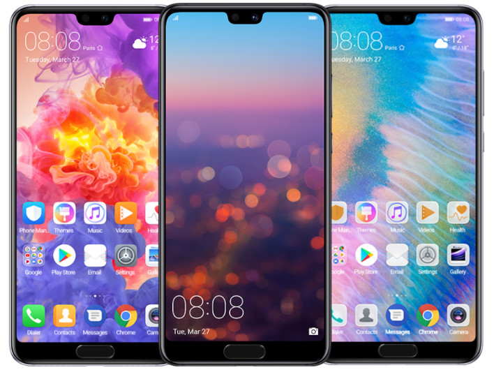 Huawei P20 Pro stock Themes Wallpapers