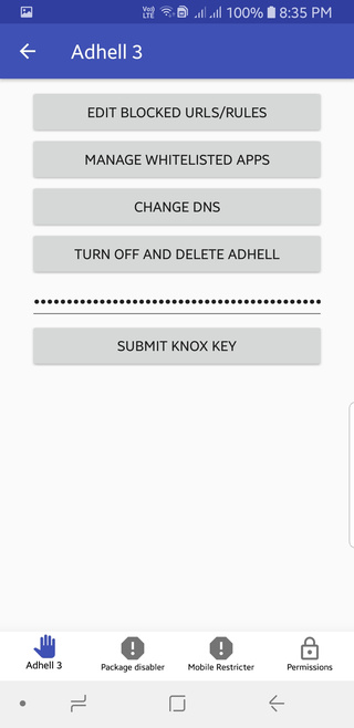 Download Adhell 3 – KNOX AdBlocker for Samsung Galaxy