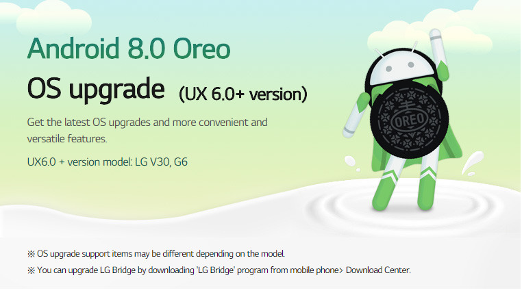 How to update LG G6 to official Android 8 0 Oreo firmware update