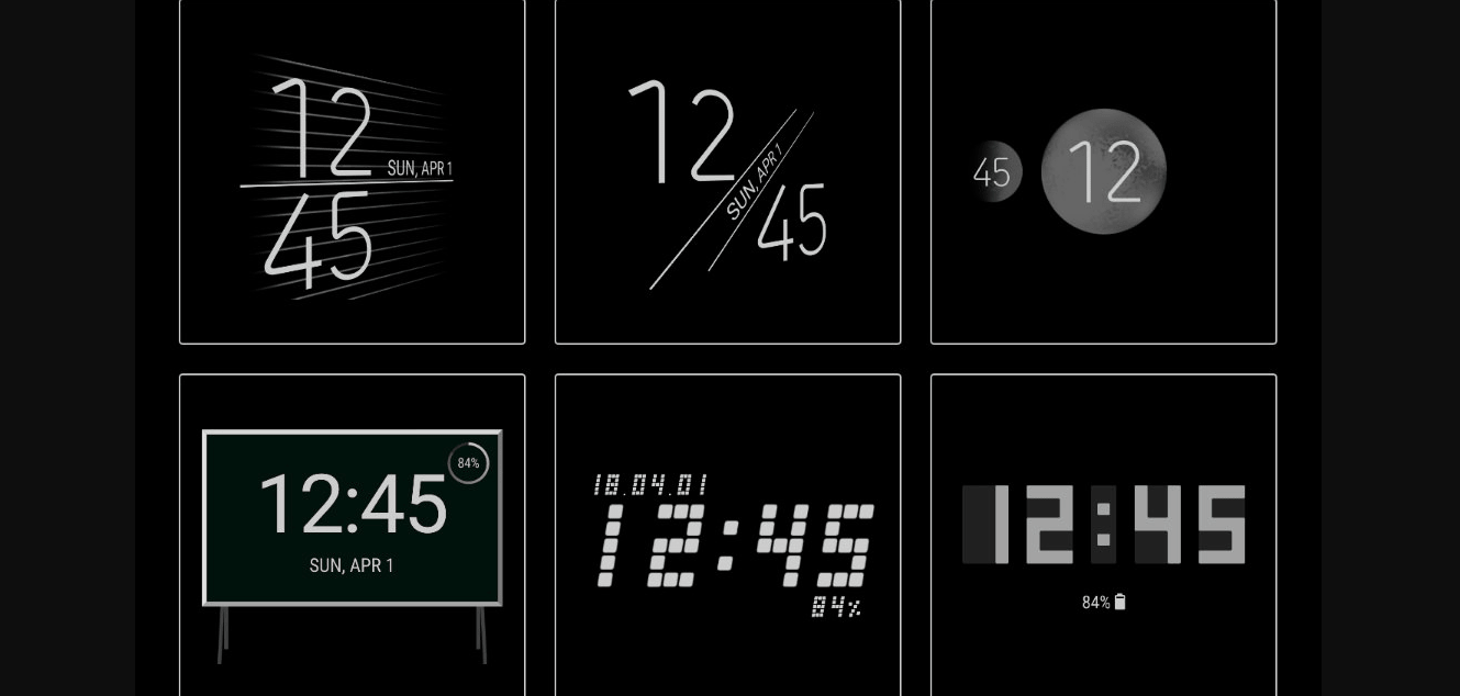 ClockFace is an Addon for Good Lock with Always on Display