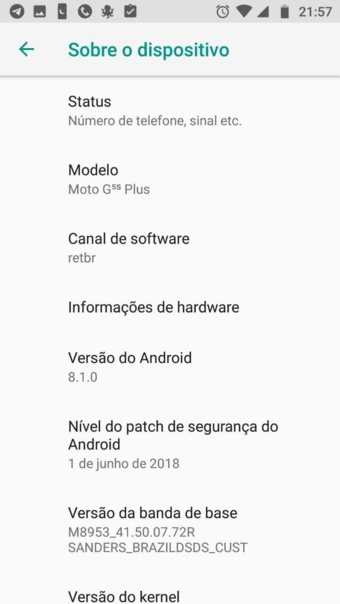 Download Moto G5S and Moto G5S Plus Android 8.1 Oreo